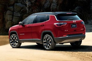 2019 Jeep Compass Exterior Rear