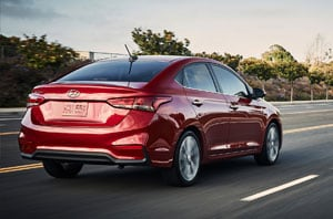2018 Hyundai Accent Side