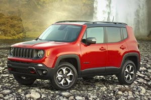 2019 Jeep Renegade Exterior Front