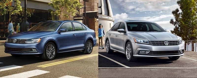 Jetta Vs Passat >> Compare 2018 Volkswagen Jetta Vs 2018 Volkswagen Passat