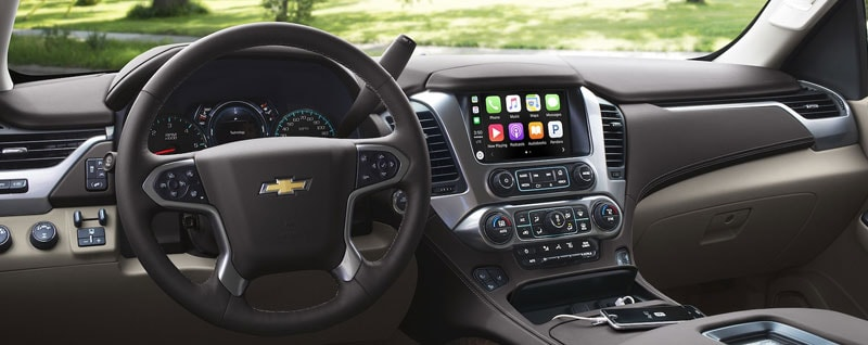 2018 Chevy Suburban Interior