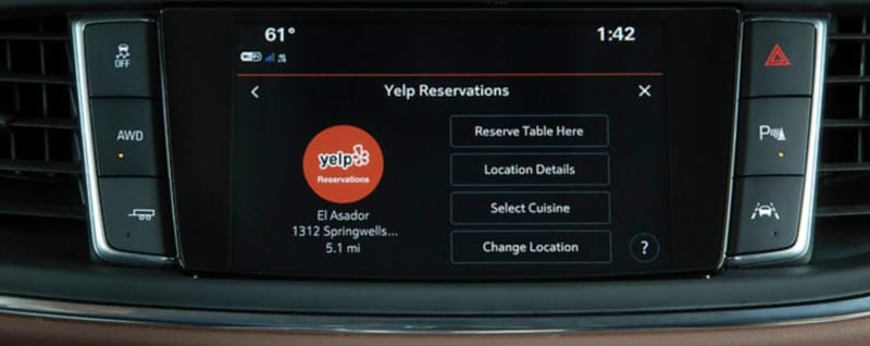 How Does Yelp On-the-go Reservations