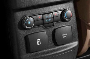Ford Rear Climate Controls