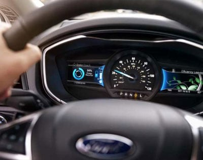 Ford Fusion Hybrid Interior Dash