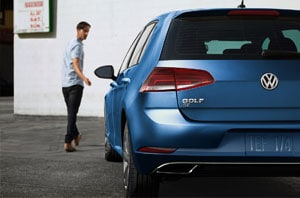 2018 Volkswagen Golf Rear