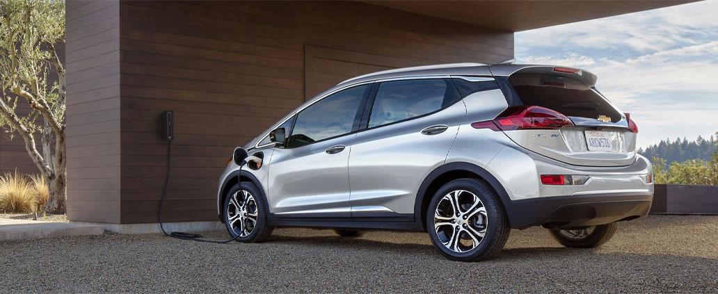 2020 Chevrolet Bolt EV Charging