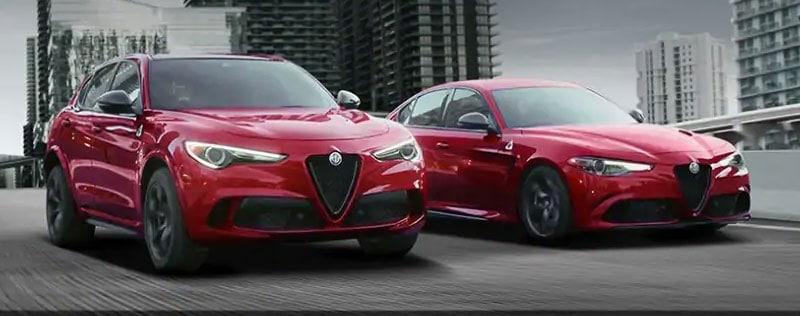 Alfa Romeo Stelvio and Giulia
