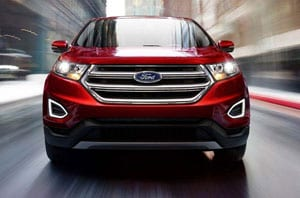 2018 Ford Edge Front