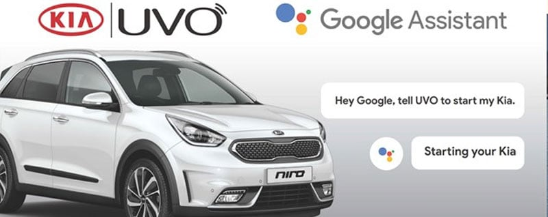 Kia Niro Google Assistant