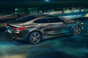 2019 BMW 8 Series Exterior Rear