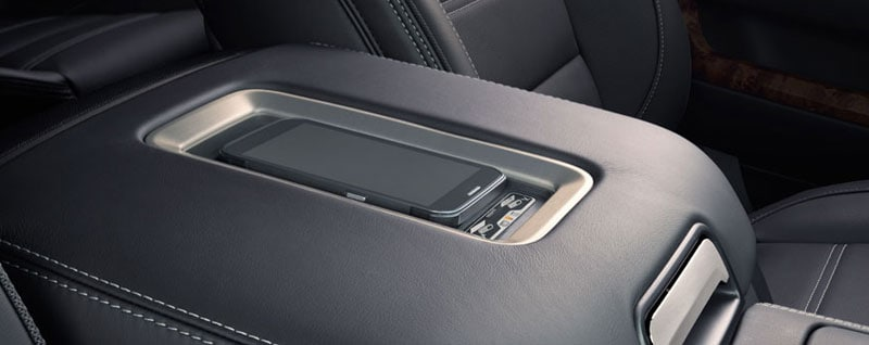 GMC Wireless Charging