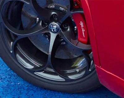 Quadrifoglio Brakes for 2019 Alfa Romeo