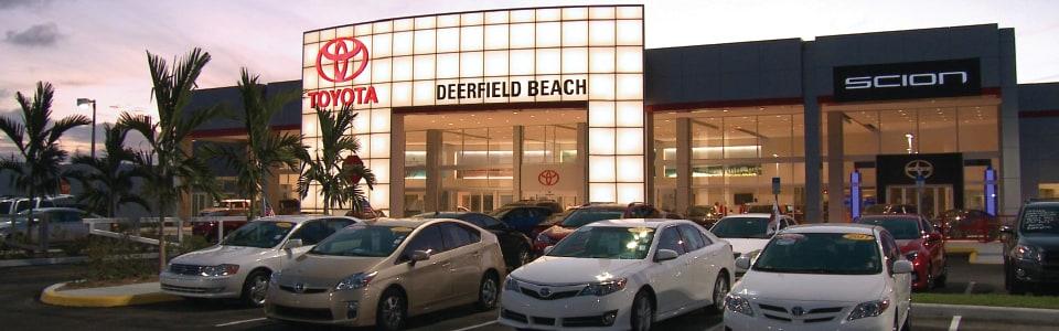 Toyota Of Deerfield Beach Deerfield Beach Toyota Dealership