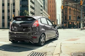 2019 Ford Fiesta Exterior Rear