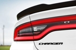 2019 Dodge Charger Exterior Rear