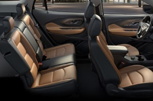 2018 GMC Terrain Seats