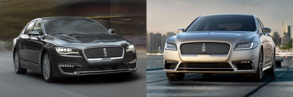 2018 Lincoln MKZ vs 2018 Lincoln Continental