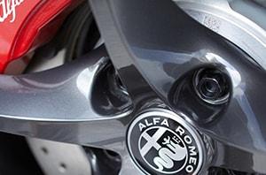 Alfa Romeo Water Spots