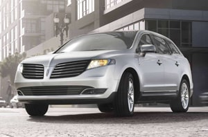 2019 Lincoln MKT Front Grille