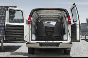 2019 GMC Savana Exterior Rear