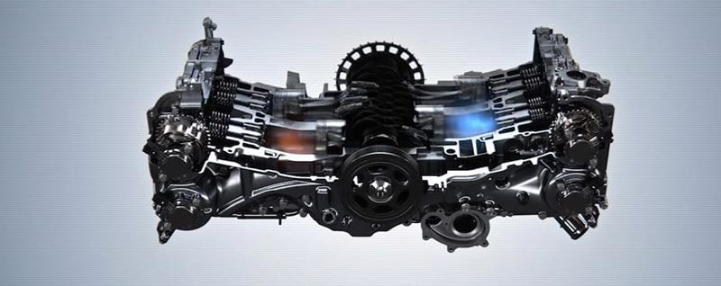 The Subaru Boxer Engine