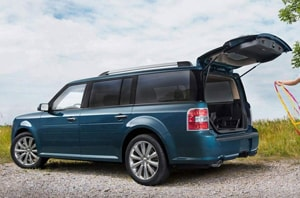 2019 Ford Flex Rear Storage
