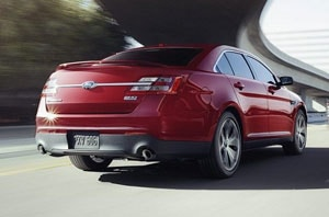 2019 Ford Taurus Exterior Rear