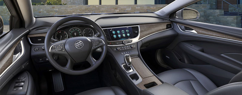 2018 Buick Lacrosse Interior with QuietTuning Technology