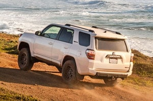 2018 Toyota 4Runner Rear