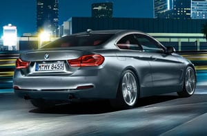2018 BMW 4 Series Rear