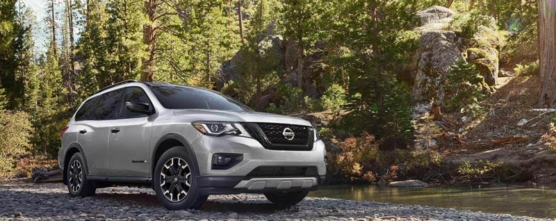 Features on the New Nissan Pathfinder Rock Creek