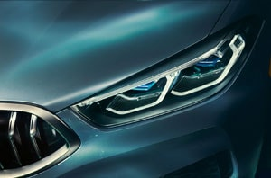 2019 BMW 8 Series Exterior Front Headlight