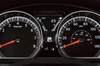Nissan Versa guages