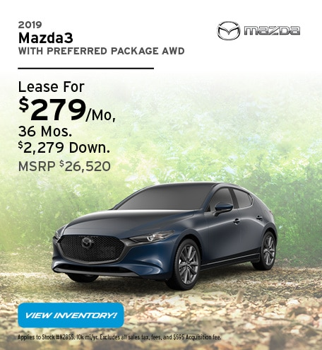 2019 Mazda3 With Preferred Package AWD