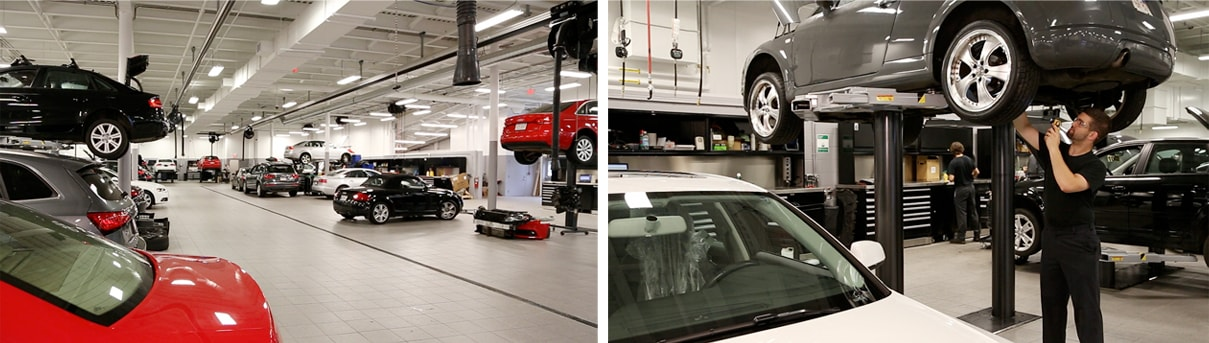 Audi Natick Renovation | Machusetts Audi Dealership