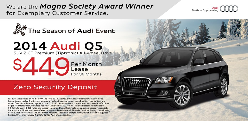 audi q5 lease special lease special audi q5. Black Bedroom Furniture Sets. Home Design Ideas