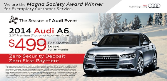 Audi A Lease Special Lease Special Audi A - Audi a6 lease