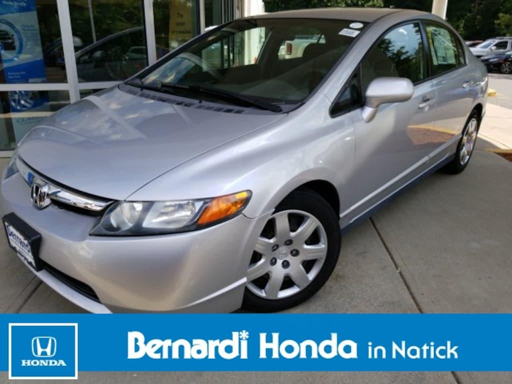 2007 Honda Civic For Sale >> Used 2007 Honda Civic For Sale At Bernardi Honda In Natick Vin