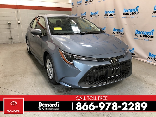 New 2020 Toyota Corolla L Sedan Framingham
