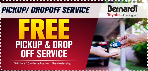 PICKUP/ DROPOFF SERVICE FREE FOR SERVICE