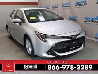 New 2019 Toyota Corolla Hatchback SE Hatchback
