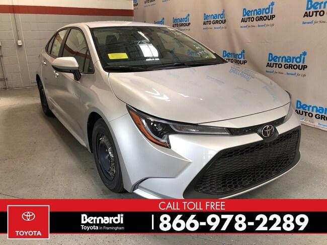 New 2020 Toyota Corolla L Sedan Framingham