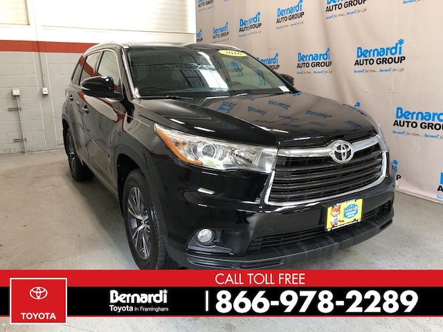 2016 Toyota Highlander For Sale >> Used 2016 Toyota Highlander For Sale In Framingham Ma Bernardi Toyota