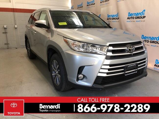 New 2019 Toyota Highlander SUV Framingham
