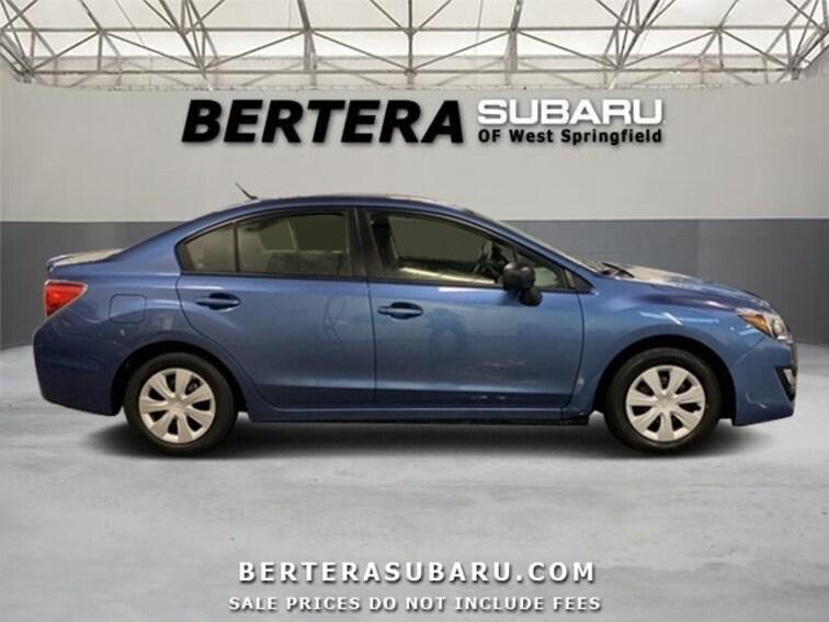 Bertera Subaru West Springfield >> Used 2016 Subaru Impreza In West Springfield Ma Vin