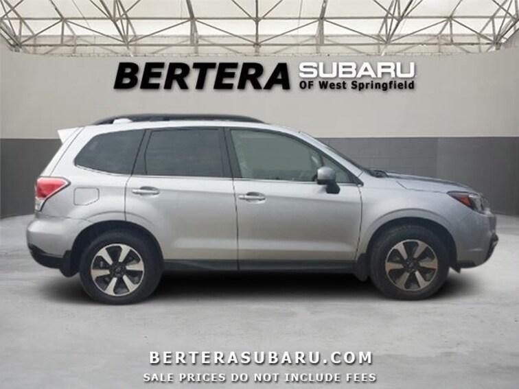 Bertera Subaru West Springfield >> Used 2018 Subaru Forester 2 5i Limited In West Springfield Ma Vin