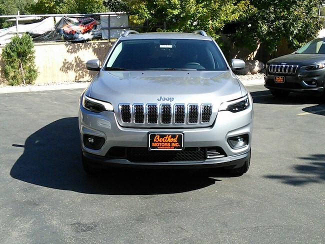 New 2019 Jeep Cherokee LATITUDE PLUS 4X4 Sport Utility For Sale/Lease Glenwood Springs, CO