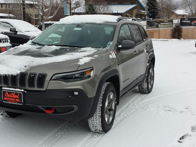 New 2019 Jeep Cherokee TRAILHAWK 4X4 Sport Utility For Sale/Lease Glenwood Springs, CO