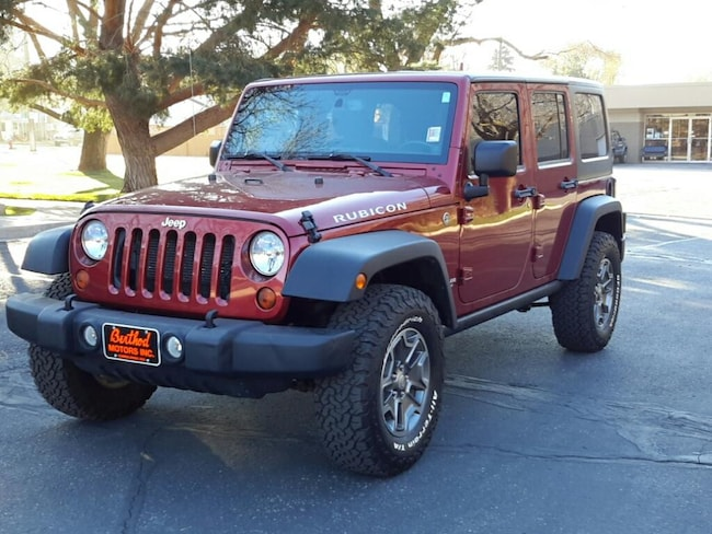 Used 2013 Jeep Wrangler Unlimited Rubicon 4WD For Sale Glenwood Springs, CO