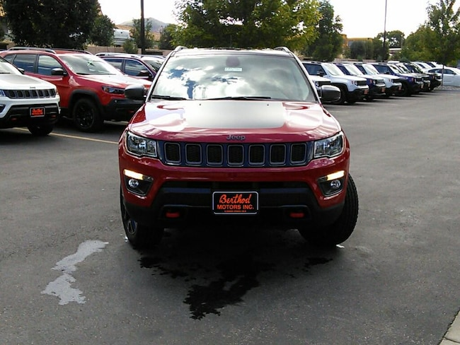 New 2018 Jeep Compass TRAILHAWK 4X4 Sport Utility For Sale/Lease Glenwood Springs, CO